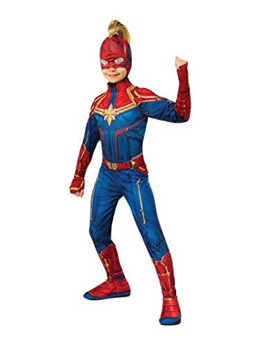 Rubies Captain Marvel Disfraz, Multicolor, Estándar (200293)