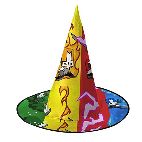 Great Features Of Castle-Colorful-Clash Halloween Hat 3D Witch Caps Stag Cosplay Costume Accessory f...