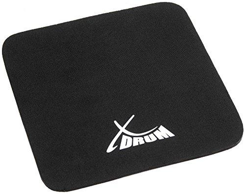 XDrum CSP-27 Cajon Sitzauflage 27 cm (Cajon-Pad, verhindert ein wegrutschen beim Kippen, bietet super Sitzkomfort, gut geeignet für längere Auftritte) schwarz