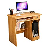 Mesas para ordenador Computadora de Escritorio Estación de Trabajo Multi-Capa de Almacenamiento de Escritorio con cajón Soporte de exhibición Suelo de Escritorio de la computadora Mesa de Estudio