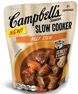 Campbell's Sauces, Slow Cooker, Beef Stew, 12 oz Pack of 3