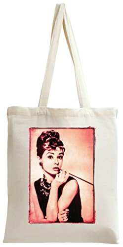 Lovely Star Audrey Hepburn Tote Bag