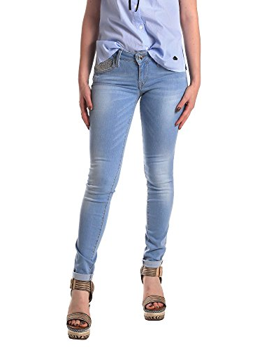 Fornarina BER1H37D709R60 Jeans Mujeres Azul 27