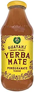 Guayaki Organic Yerba Mate, Pure Mind, 16 Ounce (Pack of 12)
