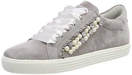 Kennel und Schmenger Damen Town Low-top Sneaker, Grau (Alu/Pearl Sohle Weiß), 39 EU (6 UK)
