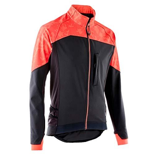 Fahrradtrikot Männer Cycling Bike Jersey Long Sleeve mit Taschen Feuchtigkeitstransport, atmungsaktiv, Rad fahren Hemd Verschleißfeste Doppelmanschetten Windjacke for Outdoor Sports Radtrikot/ Fahrrad