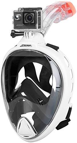 Speeron Schnorchel-Tauchmasken: Tauch-Video-Set mit Tauchmaske und 4K-Action-Cam, Größe XL (Taucher-Brillen)