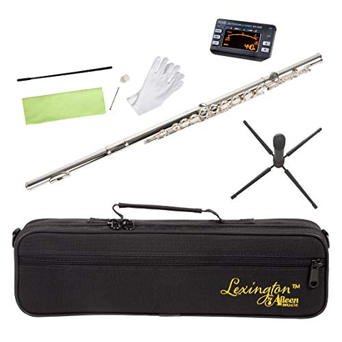 Lexington Advanced Silver Plated Closed Hole C Flute with Full...