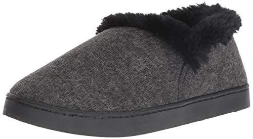 Dr. Scholl's Shoes Women's Cozy Madison Slipper, Black, 9