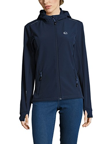 Ultrasport Damen Advanced Tina Softshelljacke, Marine Blau/Hellblau, L