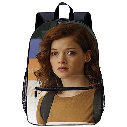Furong Mochila Infantil 3D mochila escolar -Jane Levy-Adecuado para: estudiantes de primaria y secundaria, la mejor opción para viajes al aire libre-Tamaño: 45x30x15 cm / 17...