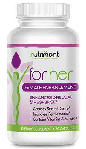 for Her Female Enhancement Pills - Libido and Intimacy Enhancer for Women - Improves Mood and Desire - Heighten Intimate Experiences - 30 Day Supply
