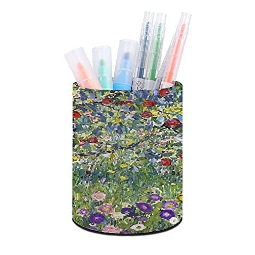 Apple Tree Gustav Klimt pennhållare, skrivbordsorganisatör, pennkopp, kontorsskrivbordsorganisatörer och tillbehör, idealisk present för klassrum och hem