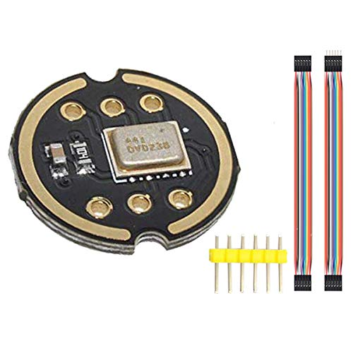 Youmile INMP441 Omnidirektionales Mikrofonmodul I2S-Schnittstelle MEMS Hohe Präzision Geringer Stromverbrauch Ultrakleines Volumen Für ESP32 DIY Mit 6-poligem Dupont-Kabel