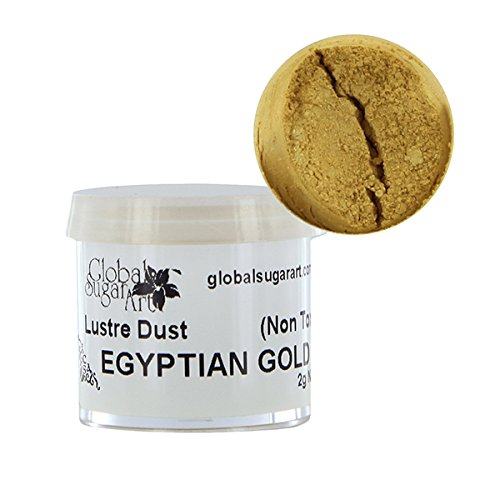 Egyptian Gold Luster Dust by Global Sugar Art