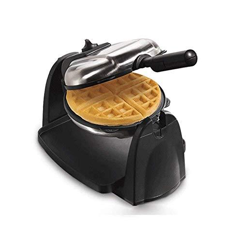 JIEJIE Elektrische Doppel Omelette Maker Sandwich Toaster Bratpfanne Eierkocher Frühstück Non Stick 800w, Extra Deep Fill Backplatten, Antihaft-Beschichtung, Cool-Touch- QIANGQIANG