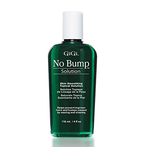 GiGi No Bump Skin Smoothing Topical Solution 4 oz, Help Prevent Razor Burns, Hair Bumps and...