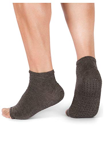 Tucketts Yoga Socken für Frauen - rutschfeste Haftsocken ohne Zehen - Stoppersocken (Damen) – Pilates Socken Geeignet für Pilates - Barre -...