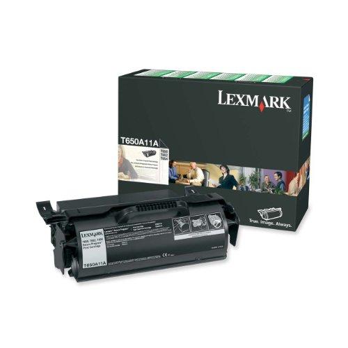 Lexmark T650A11A Return Program Black Toner Cartridge