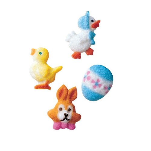 Mini Easter Charms Sugar Decorations Max 54% OFF Ct. OFFicial Cupcake Cookie Cake 12