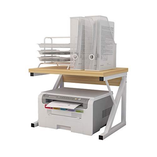 Printer Stands/Print Racks Creative Printer Shelf Surface Double Storage Rack Modern Minimalist Multi-Layer Rack Copy Rack for Home & Office Desktop Stand for Printer