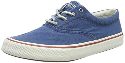 Sperry Herren Striper Ii CVO Sneaker, Schiefer Blau, 40.5 EU