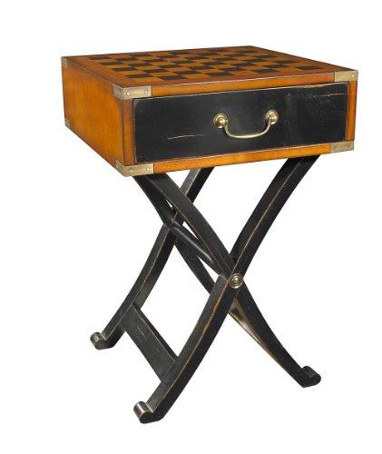 Authentieke modellen - speeltafel, bijzettafel, schaakspel - met ingelegd - fijnste houtsoorten - MF112