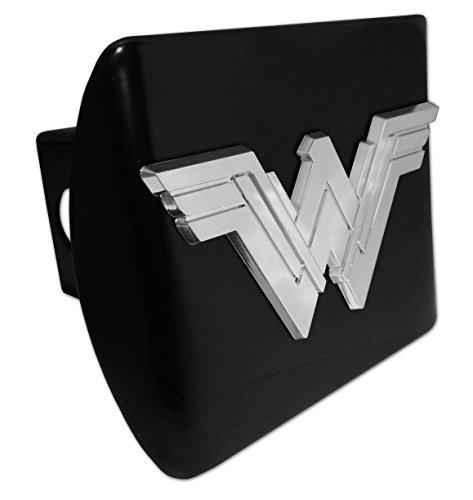 Elektroplate Wonder Woman (Apilados) All Metal Cubierta de Enganche de Color Negro