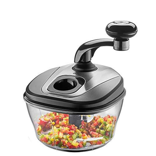 GEFU 89470 SPINO - Multipicadora manual, picador de cebollas, frutos secos, frutas, verduras