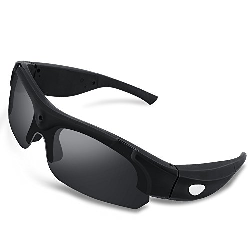 WISEUP 16GB 1080P HD Eyewear Video Recording...