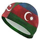 huatongxin Retro Azerbaijan Flag Badekappen für Männer und Frauen Are Also Suitable for Boys and...