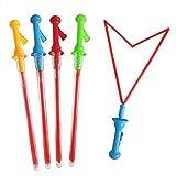 YO-HAPPY Große Blase Western Schwert Form Bubble Sticks Kinder Seife Bubble Toy Outdoor-Spielzeug
