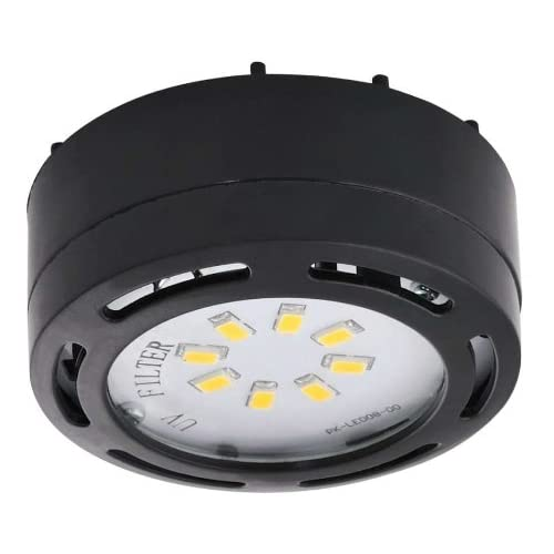 LEDP120BK - 120V Direct LED Puck Light-Black - Under Counter Fixtures - Amazon.com