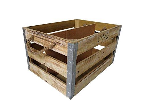 HTI-Line Holzkiste Vino Aufbewahrung Kiste