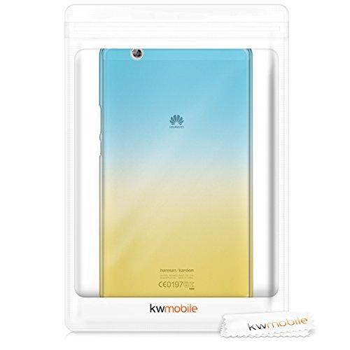 kwmobile Huawei MediaPad M3 8.4 Hülle - Silikon Tablet Cover Case Schutzhülle für Huawei MediaPad M3 8.4 - 6