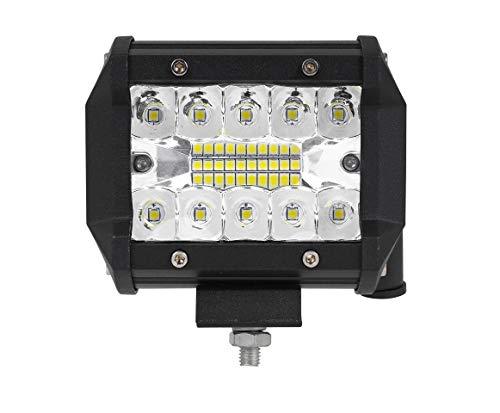"""1x LED-Fernscheinwerfer Scheinwerfer Light Bar 4"""" 10cm 60 Watt 20x CREE LED Super Hell mit ECE-Zulassung Eintragungsfrei Straßenzulassung~"""