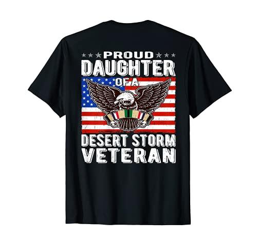 Proud Daughter Of Desert Storm Cadeau de guerre persan T-Shirt