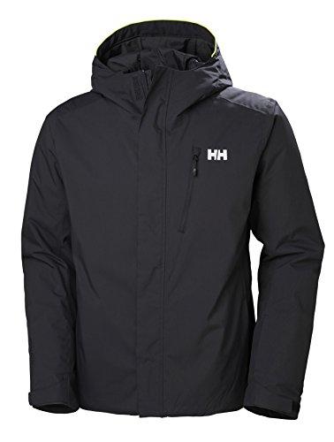 Helly Hansen Herren Trysil Jacke, Schwarz (990 Black), M