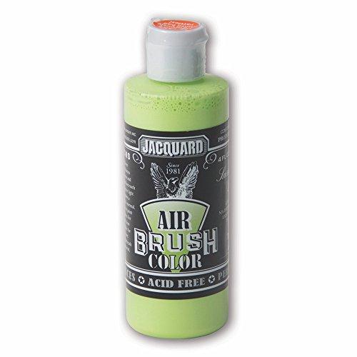 Sneaker Series Airbrush Color by Jacquard, Artist-grade Fluid Acrylic Paint, Use on Multiple Surfaces, 4 Fluid Ounces, Volt