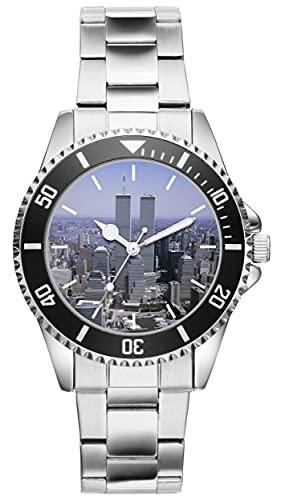 World Trade Center 21117 - Reloj de pulsera analógico de cuarzo para hombre y mujer