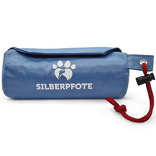 Silberpfote Leckerlibeutel für Hunde - Hunde Futterbeutel zum Apportieren - Futterdummy für Leckerli (Nass und Trockenfutter)- Erziehungshilfe für deinen Hund