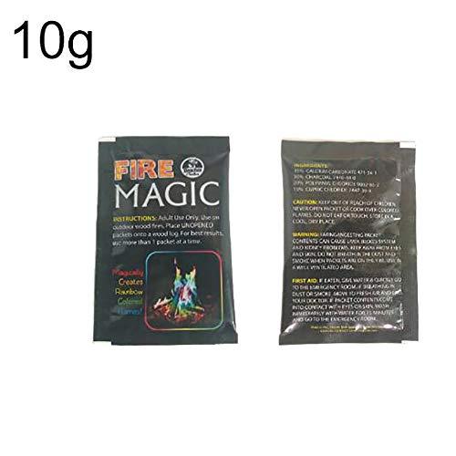 KimcHisxXv Mystical, zout voor kleurrijk vuur, 15 g/10 g/25 g 10g