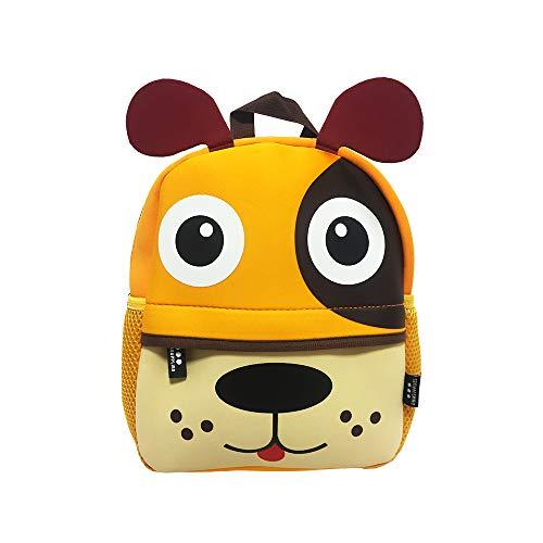 DMM Supplies Mochila Happy Animals Perrito Guardería, Unisex niños, Multicolor, Talla del Producto