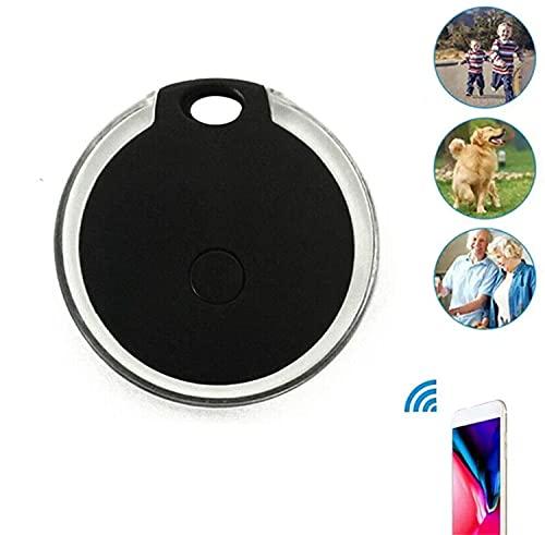 Rastreador De Perros Gps, Rastreador Inteligente De Bluetooth Y Buscador De Llaves Bluetooth, Alarma Inteligente Inalámbrica Antipérdida, Resistente Al Agua, Batería De Uso, Para Gatos, Perros (Negro)