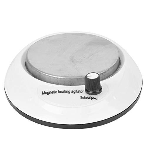 Magnetomrörare Digital 1L Magnetomrörarmaskin 0-3000 varv/min med uppvärmd funktion, plast 50Hz Digital magnetomrörare, låg ljudnivå (EU)
