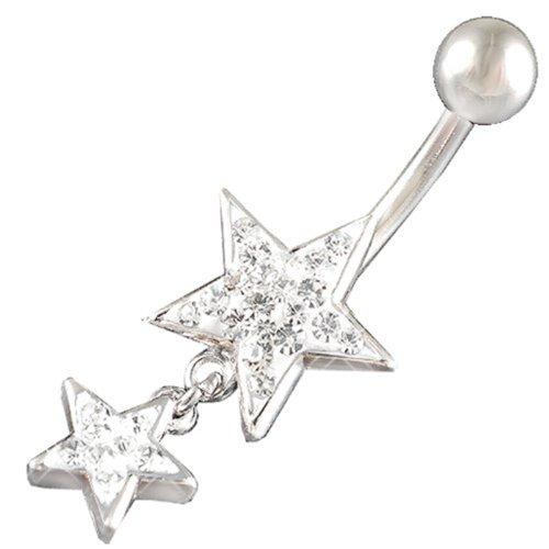 bodyjewelry Fast-BL-Spun-CR-014-Klar-de