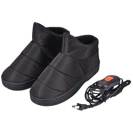 SUPVOX Pantofole Riscaldanti USB Elettriche da Microonde Riscaldate Peluche Invernale per Donna e Uomo caff/è