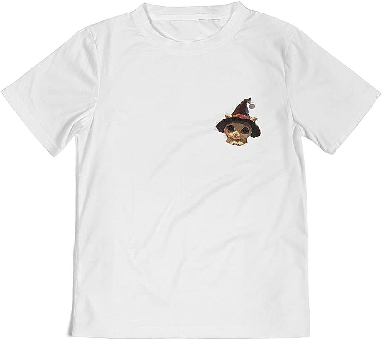 Kids Short Sleeves Shirt Tops Tee Shirt Crewneck Graphic Tee for Boy Girl Youth