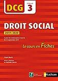 Droit social - DCG 3 - Le cours en fiches par épreuve