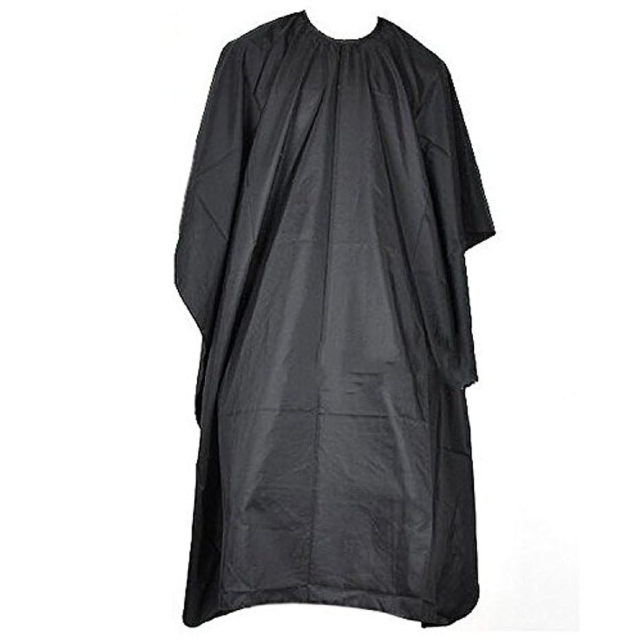 杭スクラップブックの中でYideaHome 家庭 ホーム 理容室用 理髪 ケープ 布 散髪マット  ヘアカット用  ケープ ブラック